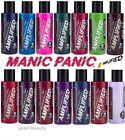 Manic Panic Amplified Semi Permanent Hair Dye Vegan Cream Colour All Colours