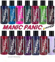 Manic Panic Amplified Semi Permanent Hair Dye Vegan Cream Colour All Colours