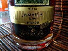 3 bottles RHUM nation JAMAICA 8 YO POT STILL 50%