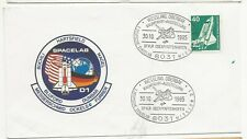 1985 Germany Space Cover Spacelab D1 Flight of Shuttle