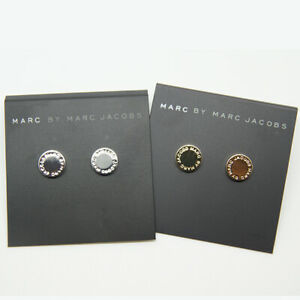 Marc by Marc Jacobs Ohrringe Ohrstecker mit Logo disc stud earrings
