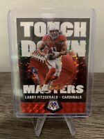 2020 Panini Mosaic Larry Fitzgerald Touchdown Masters Silver Mosaic Prizm SP
