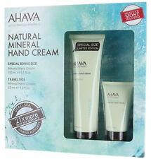 Ahava Natural Mineral Hand Cream With Active Deadsea Minerals 5.1 Oz. + 1.3 Oz