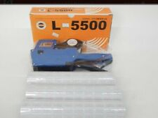 Price Gun Labeler L5500 With Labels Brand New Old Stock