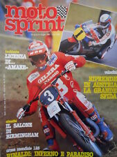 Motosprint 17 1982 Eikki Mikkola - Husqvarna 500 a 4 tempi - Cross 250 [SC.31]