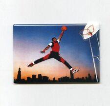 "MICHAEL JORDAN - CHICAGO 2"" x 3"" POSTER FRIDGE MAGNET nike air 3 4 5 6 7 8 1984"