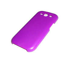NEW SAMSUNG GALAXY S3 III PURPLE PLASTIC SMARTPHONE CASE SUPER FAST SHIPPING