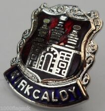 Kirkcaldy Town Crest Small Pin Badge (0224)