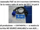 Cavo Aux pannello MP3 Fiat Panda Punto NO SOURCE AVAILABLE di CONTINENTAL 1,4mt