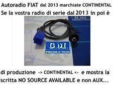 "Cable Aux panel MP3 Fiat Panda Punto NO ""Fuente NO DISPONIBLE"" disponible di"
