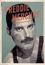 New Freddie Mercury by American Flat Fine Rock Music Art Print Home Decor 738443