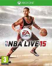 NUOVO SIGILLATO UFFICIALE 2015 NBA LIVE 15 MICROSOFT XBOX ONE PAL Partita di basket