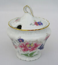 RARE - HAVILAND LIMOGES - PIVOINE - JAM / JELLY JAR - FRANCE - EXCELLENT