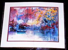 Dimensions Vintage 1988 Crewel Embroidery Kit Autumn Mist #1350 SEALED
