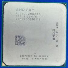 AMD FX-8100 CPU FD8100WMW8KGU 2.8GHz AM3+ 8-Core 8M 95W Processor Bulldozer