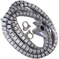 20M Kabelspirale Kabelschlauch Kabelschutz Spiralschlauch Schutzschlauch 7mm