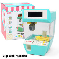Coin Operated Game Machine Candy Doll Grabber Claw  Arcade Machine Toy Kid