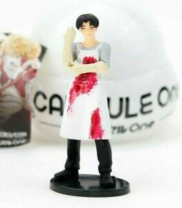 Attack on Titan LEVI ACKERMANN Figure Vol 2 Capsule One Q by Kaiyodo Anime Toy