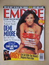 EMPIRE FILM MAGAZINE No 88 OCTOBER 1996 THE SEX ISSUE - DEMI MOORE
