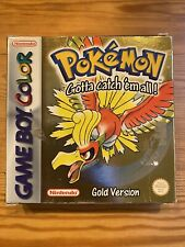 Pokemon: Gold Version (Game Boy Color, 2000) Box Only - No Game And Manual
