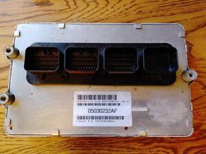 06 Magnum 300C Charger 6.1L SRT8 AT ECU ECM PCM 5030232AF 4606839AD FREE PROGRAM