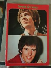 Walker Brothers Scott And Gary 1968 Japan tour book