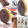 Self Adhesive Foam Draught Excluder Window Door Seal Strip Soundproof Rubber UK