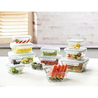 Member's Mark 24-Piece Glass Food Storage Set by Glasslock FREE SHIPPING