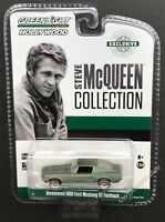 GREENLIGHT Steve McQueen Unrestored 1968 Ford Mustang GT Fastback 1:64