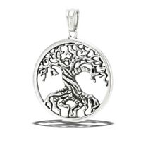 STAINLESS STEEL TREE OF LIFE PENDANT no chain