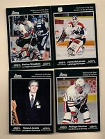 (4) 1991-92 CHL AWARD WINNERS   CARD
