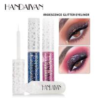 Metallic HANDAIYAN Shiny Eyes Eyeshadow Waterproof Glitter Liquid Eyeliner UK