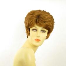 Parrucca donna corta biondo rame : CLEMENTINE 27