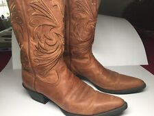 Ariat Heritage Western Women's Distressed Leather Boots  Size 10 Model #15728