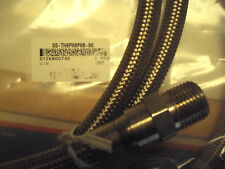 SS-TH8PM8PM8-96 Swagelok teflon SS braid reinforced hose, 1/2 mnpt in-out, 8 ft.