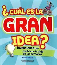 CUßL ES LA GRAN IDEA? / WHAT'S THE BIG IDEA?