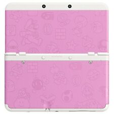 New Nintendo 3DS Cover Plates - No. 025 - Super Mario Bros Pink *NEW* RARE SALE!