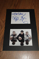 MUSE signed 8x12 inch autograph matted InPerson in Berlin LOOK