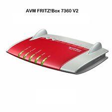 AVM FRITZ!Box 7360 v2 International Edition DSL VOIP Modem Gigabit Router