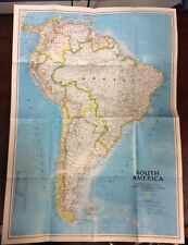 South America Amazon 1992 2 Sided Map National Geographic OldPaperMaps.com