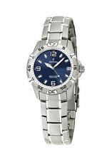 Armbanduhren aus Edelstahl mit Datumsanzeige und mattem Finish für Damen