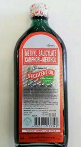 Efficascent Liniment Oil Methyl Camphor Original 100ml