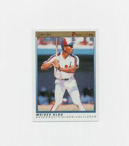 1991 O-Pee-Chee Moises Alou OPC Premier Baseball Card #3 Montreal Expos