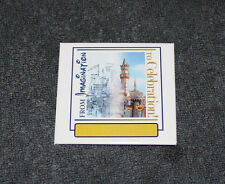 """Disneyland From Imagination To Celebration Pin Back Button 2 5/8"""""""