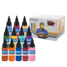 Chris 51 Geek Ink Set of 12 Cartoon Colors – Intenze Tattoo Ink – 1oz Bottles