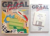 Rare GRAAL TEXT Logiciel software pour ATARI ST / MegaST / STE / MEGA STE