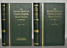 THE OXFORD LIBRARY OF CLASSIC ENGLISH  SHORT STORIES  2 VOLUMES