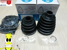Front Inner & Outer CV Axle Boot Kit For Honda Accord V6 2003-2012 ALL