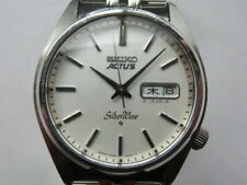 Seiko Men's Watch Actus Silver Wave Automatic winding 6306 Screw-down Crown