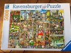 Ravensburger Bizarre Town Colin Thompson 5000 Piece Jigsaw Puzzle Rare.